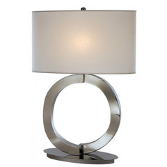 Buy Trend Lighting Infinity Vellum Shade 26.5 Inch Table Lamp on sale online