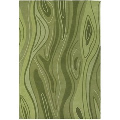 Buy Chandra Rugs Inhabit Hand-Tufted Designer Green Rug - INH21617 on sale online