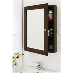 Buy J&J International Espresso 27x22 Medicine Mirror Cabinet on sale online