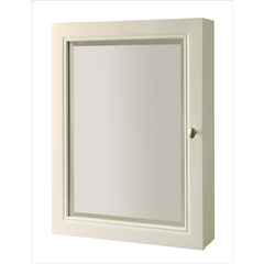 Buy J&J International Pearl White 27x22 Medicine Mirror Cabinet on sale online