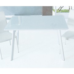 Buy J&M Furniture B24 47x30 Rectangular Dining Table in White on sale online