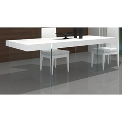 Buy J&M Furniture Cloud 78x39 Modern Dining Table in High Gloss on sale online