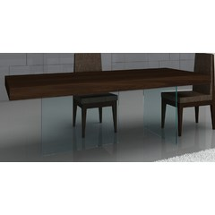 Buy J&M Furniture Float 78x39 Rectangular Dining Leg Table on sale online