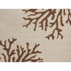 Buy Jaipur Rugs Abstract Pattern Beige and Brown Indoor and Outdoor Round Rug  - GD02 on sale online