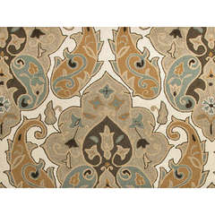Buy Jaipur Rugs Abstract Pattern Beige and Brown Indoor and Outdoor Rug  - BA05 on sale online