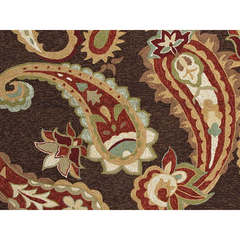 Buy Jaipur Rugs Abstract Pattern Beige and Brown Indoor and Outdoor Rug  - BA13 on sale online