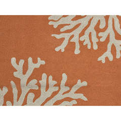 Buy Jaipur Rugs Abstract Pattern Red and Orange Indoor and Outdoor Round Rug  - GD01 on sale online