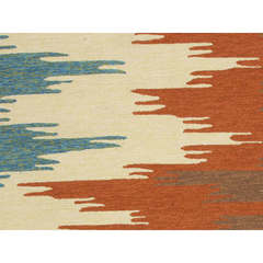 Buy Jaipur Rugs Abstract Pattern Red and Orange Indoor and Outdoor Runner Rug  - CO06 on sale online