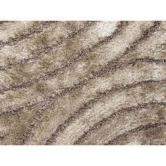 Buy Jaipur Rugs Beige and Brown Abstract Pattern Shag Rug - BE02 on sale online