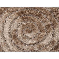 Buy Jaipur Rugs Beige and Brown Solid Pattern Shag Rug - BE08 on sale online