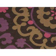Buy Jaipur Rugs Flat Weave Floral Pattern Pink and Purple Wool Handmade Rug - MR21 on sale online