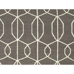 Buy Jaipur Rugs Flat Weave Geometric Pattern Gray and Black Wool Handmade Rug - MR34 on sale online