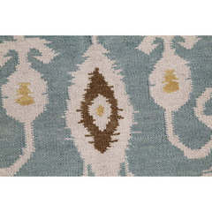 Buy Jaipur Rugs Flat Weave Tribal Pattern Blue Wool Handmade Rug - UB18 on sale online