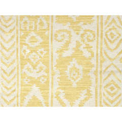 Buy Jaipur Rugs Flat Weave Tribal Pattern Gold and Yellow Wool Handmade Rug - UB16 on sale online