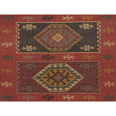 Buy Jaipur Rugs Flat Weave Tribal Pattern Multi Color Hemp and Jute Handmade Rug - BD04 on sale online
