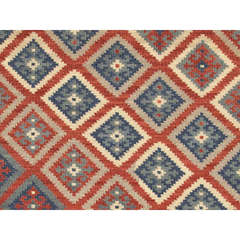 Buy Jaipur Rugs Flat Weave Tribal Pattern Multi Color Wool Handmade Rug - AT01 on sale online
