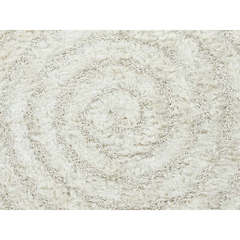 Buy Ivory and White Abstract Pattern Shag Rug - BE07 on sale online
