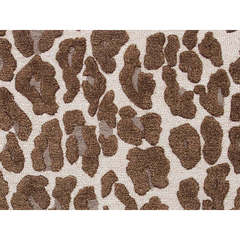 Buy Jaipur Rugs Modern Animal Print Pattern Beige and Brown Wool and Silk Tufted Rug - MD26 on sale online