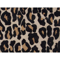 Buy Jaipur Rugs Modern Animal Print Pattern Gray and Black Wool and Silk Tufted Rug - MD20 on sale online