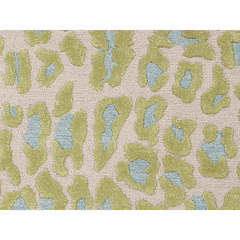 Buy Jaipur Rugs Modern Animal Print Pattern Green Wool and Silk Tufted Rug - MD19 on sale online