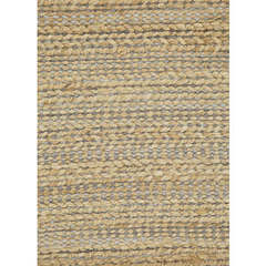 Buy Jaipur Rugs Natural Solid Pattern Jute and Cotton Blue Rug - HM02 on sale online