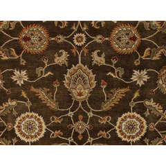 Buy Jaipur Rugs Traditional Oriental Pattern Beige and Brown Wool Tufted Rug - MY01 on sale online