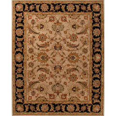 Buy Jaipur Rugs Traditional Oriental Pattern Beige and Brown Wool Tufted Rug - MY02 on sale online