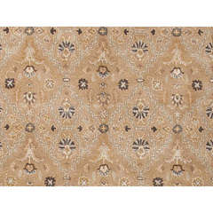 Buy Traditional Oriental Pattern Beige and Brown Wool Tufted Runner Rug - PM54 on sale online