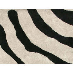 Buy Jaipur Rugs Transitional Animal Print Pattern Gray and Black Wool and Silk Tufted Rug - MD07 on sale online