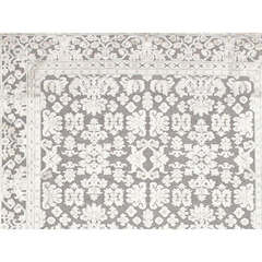 Buy Jaipur Rugs Transitional Oriental Pattern Blue Viscose and Chenille Rug - FB08 on sale online