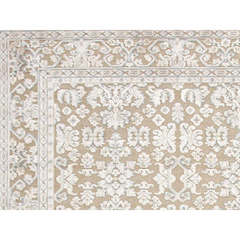 Buy Jaipur Rugs Transitional Oriental Pattern Ivory and White Viscose and Chenille Rug - FB07 on sale online