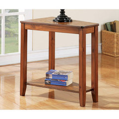 Buy Steve Silver Joel 24x16 Chairside End Table in Oak on sale online