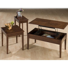 Buy Jofran 109 Series Boise Brown Cherry 3 Piece Occasional Table Set on sale online
