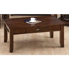 Buy Jofran 731 Series Urban Lodge Brown 45x27 Rectangular Cocktail Table w/ Drawer on sale online