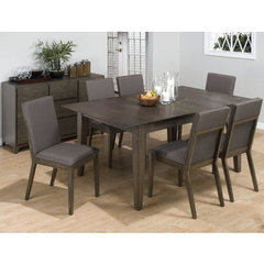 Buy Jofran Antique Gray Ash 7 Piece 60x42 Dining Room Set on sale online