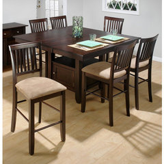 Buy Jofran Baker 7 Piece Slat 54x42 Counter Height Set on sale online