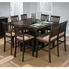 Buy Jofran Baker 8 Piece 54x42 Counter Height Set w/ Bench on sale online