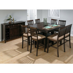Buy Jofran Baker 9 Piece 54x42 Counter Height Set w/ Bench on sale online