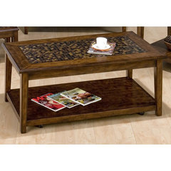 Buy Jofran Baroque Brown 48x26 Cocktail Table on sale online