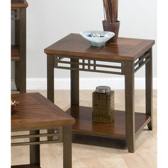 Buy Jofran Barrington Cherry 24x24 End Table on sale online