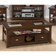 Buy Jofran Bellingham Brown 48x24 Cocktail Table on sale online