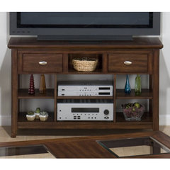 Buy Jofran Bellingham Brown 48 Inch Media Unit on sale online