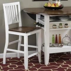 Buy Braden Birch 41 Inch Counter Stool w/ Slat Back on sale online