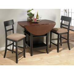 Buy Jofran Brunette 3 Piece Counter Height Set on sale online
