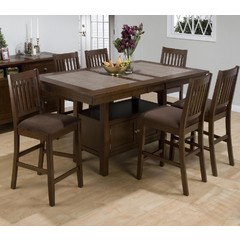 Buy Jofran Caleb 7 Piece 72x42 Counter Height Set on sale online