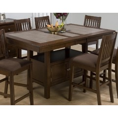 Buy Jofran Caleb 72x42 Counter Height Table w/ Butterfly Leaf on sale online