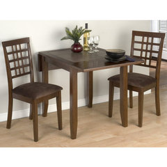 Buy Jofran Caleb Brown 3 Piece 30x30 Dining Room Set on sale online