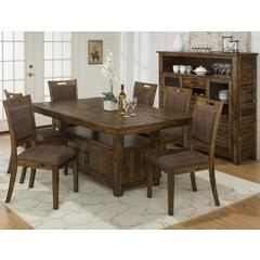 Buy Jofran Cannon Valley 8 Piece 72x42 Rectangular Dining Set on sale online