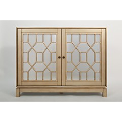 Buy Jofran Casa Bella 50x16 Mirrored Console in Champagne Gold on sale online