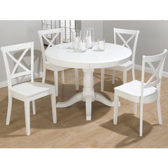Buy Jofran Casper White 5 Piece Dining Room Set on sale online